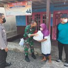 Door to Door, Prajurit Wijayakusuma Menyambangi Warga Berikan Sembako.