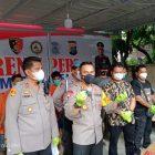 Wakapolrestabes Paparkan Kasus Senpi Bodong di Polsek Medan Area.
