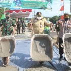 Kodim 0726/Sukoharjo Menggelar TMMD Sengkutung Tahap II di Desa Parangjoro.