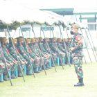 Pengarahan Pangdam IBB kepada Peserta Latihan Pratugas Operasi Satgas Pengamanan Daerah Rawan Maluku dan Maluku Utara Yonarhanud 11WBY TA 2021.