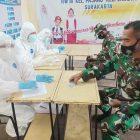 Ratusan Anggota Satgas TMMD Reguler ke-111 Kodim 0735/Surakarta Melakukan Tes Swab Antigen, Ini Tujuannya!!